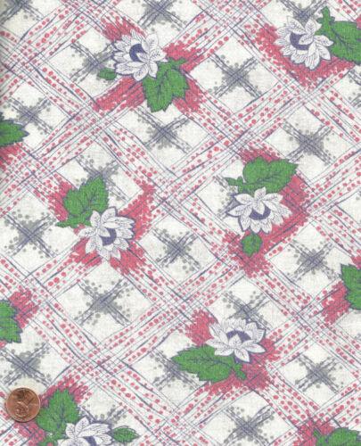 Vintage Strawberry Blossom Feedsack Feed Sack