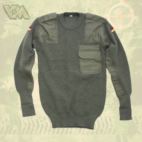 BW armée original pull kaki protection thermique protection Military pêcher Outdoor