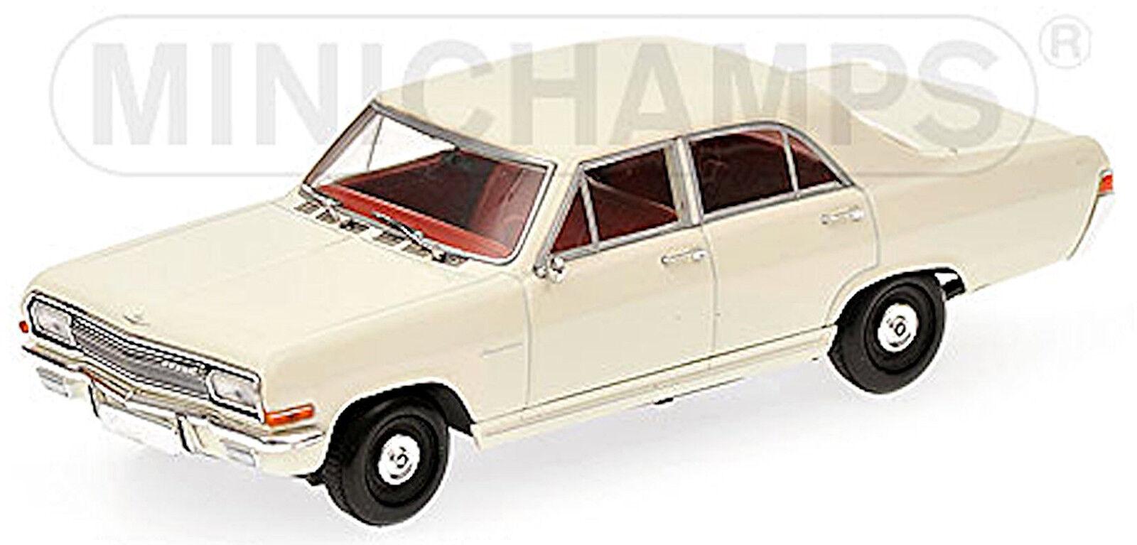 Opel capitaine a 1964-68 Chamonix Blanc blanc 1 43 Minichamps
