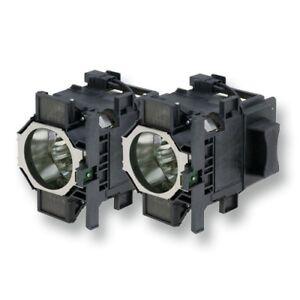 Alda-PQ-ORIGINALE-LAMPES-DE-PROJECTEUR-pour-Epson-eb-z8350wnl-Double