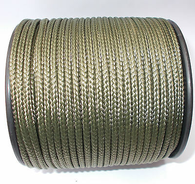 Poly Rope Washing Clothes Line Pulley PolyRope Strong Polypropylene Khaki 4-6mm