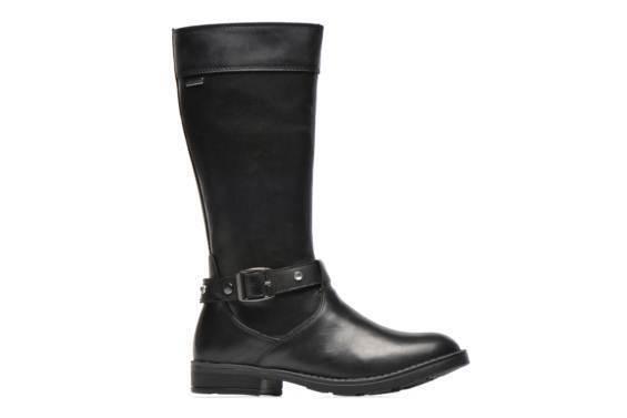 GEOX SOFIA WATERPROOF schwarz LEATHER SOFT KNEE KNEE SOFT HIGH Stiefel NEW WITH BOX 38 UK5 68922a