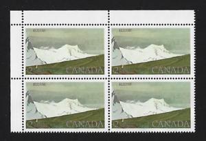 Canada-Stamps-Corner-Block-of-4-UL-1979-Kluane-National-Park-727-MNH