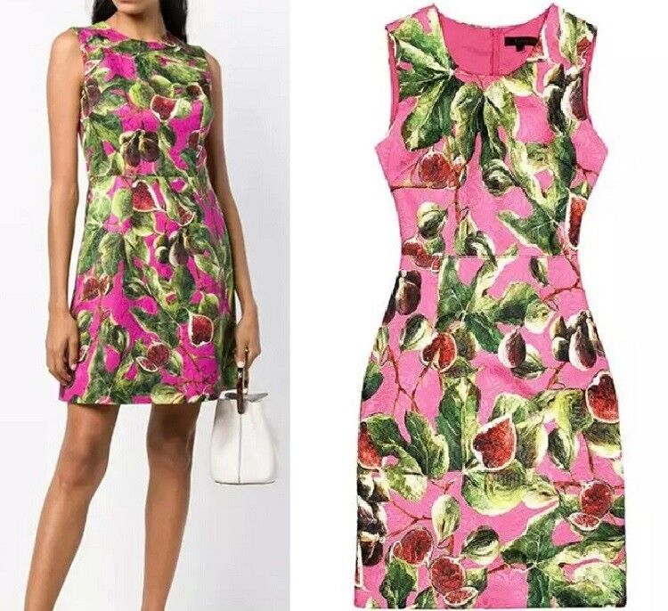 MW010016 - FASHION FLORAL PRINT SLEEVELESS DRESS (Größe S - XXL)