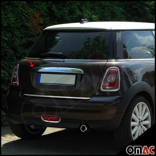 Per Mini Cooper r50 r52 r53 2001-2007 Bagagliaio Barra Barra Posteriore ABS CROMO