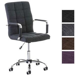 Chaise Bureau DELI V2 Tissu Fauteuil Ordinateur Salon