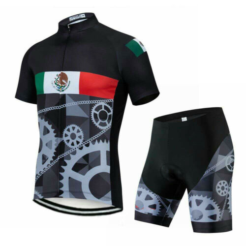Countries Team Cycling Jersey and Shorts Set Men/'s Road Bike Clothing Kit S-5XL