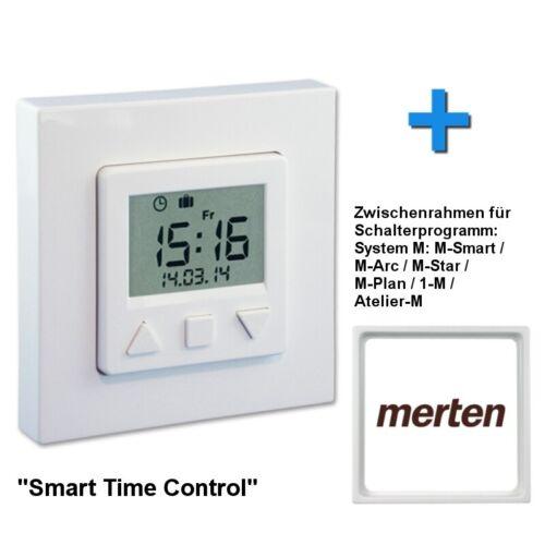 Merten entre cadre Minuterie vestamatic smart time control pour volet roulant