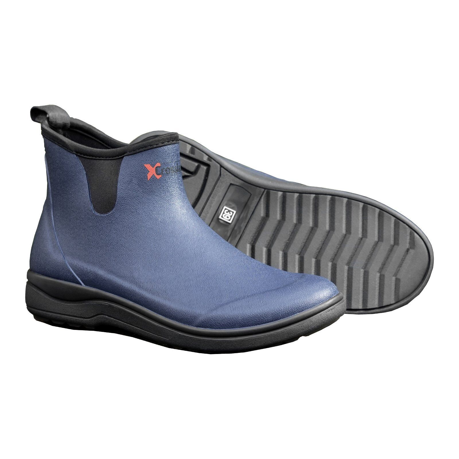 CROSSLANDER Outdoor Bottes Malmö Marine 41 Bottes en caoutchouc bottes chaudes chaussures