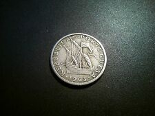 1963 Portugal 2-1/2 escudos moneda. Excelente grado EF. escaso