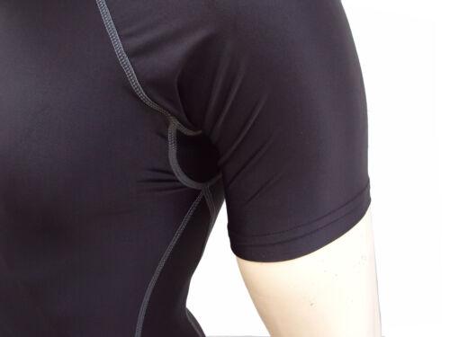 Collant chemise sous Armour manchon peau Top Long de mens Compression Base couche pant