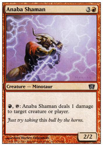 8th Edition Anaba Shaman X4 *CCGHouse* Magic NM MTG