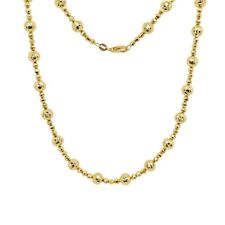 Satellite chain Delicate chains 16 inch 135SF Curb B-1 with 2mm beads SALE 20pcs NP-1848 16 Chain Gold Plated