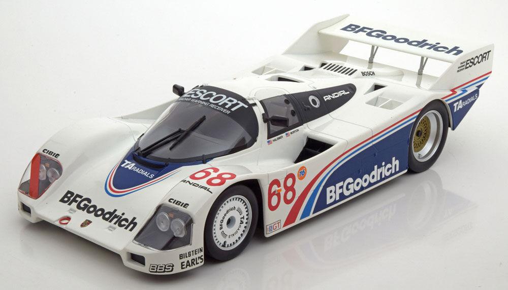 Norev 1985 Porsche 962 C 600 kms de Riverside  68 Edición Limitada 1000 un. 1 18  Totalmente Nuevo