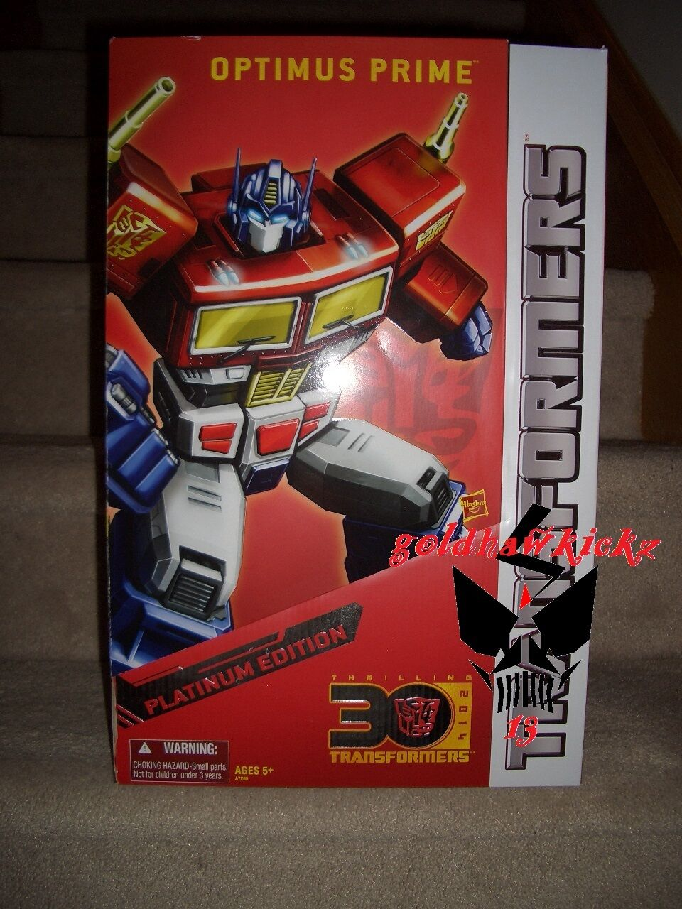Transformers Platinum OPTIMUS PRIME Year Of The Horse Masterpiece Sealed MP10