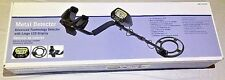 Advanced Technology Metal Detector with Double ID Indication & LCD Display BNIB