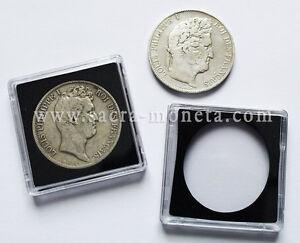 Capsules-plastique-Quadrum-pour-pieces-5-francs-ecus-diametre-37-millimetres