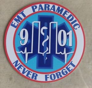 91101-Emergency-Medical-Technician-EMT-Paramedic-Never-Forget-Decal-4-034