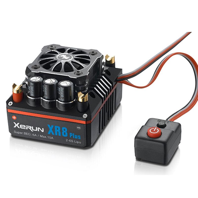 Hobbywing XERUN XR8 Sensorojo sin escobillas Plus ESC Speed Controller 150A para 1 8