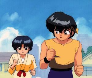 Ranma 1/2 Anime Cel Background Animation Art Ryoga Akane Rumiko Takahashi