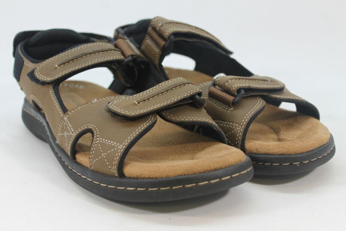 Dockers Newpage Men's Dark Tan Sandals 10W(ZAP11244)