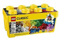 Lego Classic Medium Creative Brick Box , New, Free Shipping