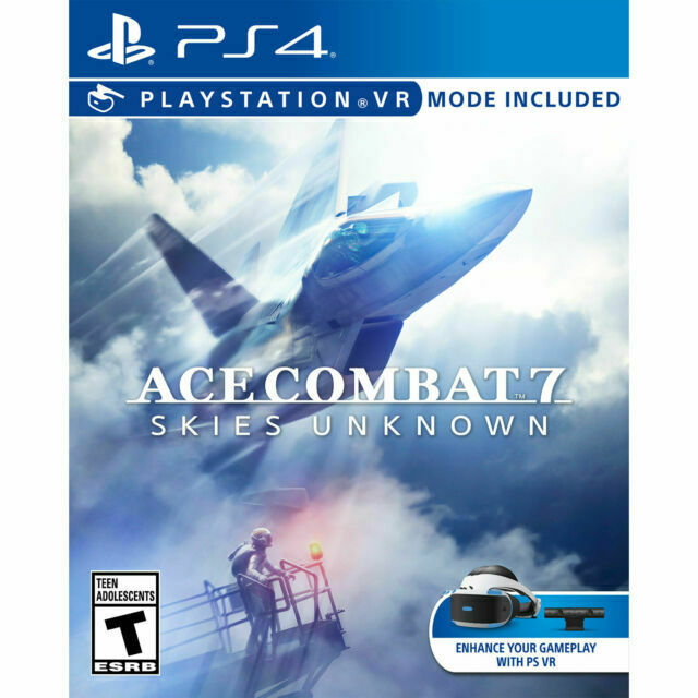 ACE COMBAT 7 SKIES UNKNOWN PS4 NEW! VR COMPATIBLE! VIRTUAL R