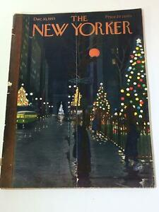 The-New-Yorker-December-10-1955-Full-Magazine-Theme-Cover-by-Alain