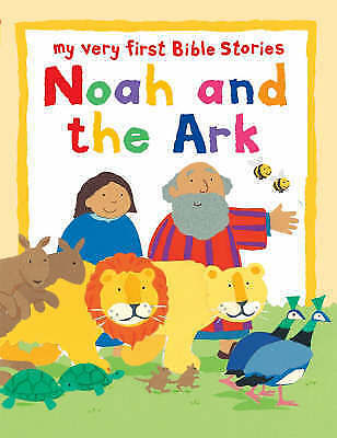1 of 1 - Noah and the Ark: My Very First Bible Board Book (My Very First Bible Stories),