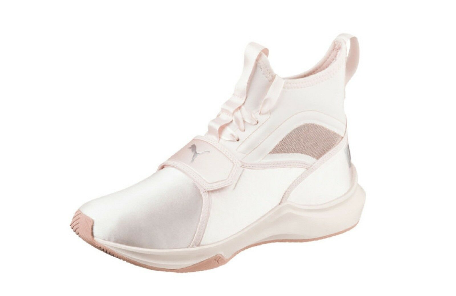 Puma Phenom Satin Satin Satin Ep Femmes Baskets Montante Chaussures UK Taille 5 Perle 830f97