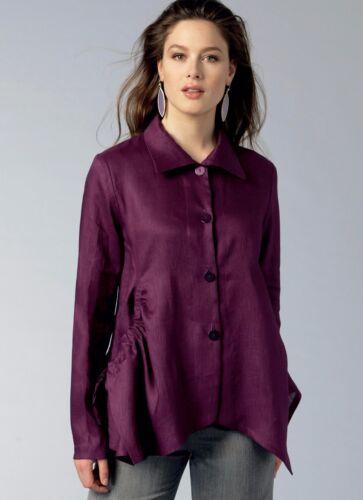Vogue Sewing Patterns Designer Marcy Tilton Misses/' Coats Tops Skirts Jackets