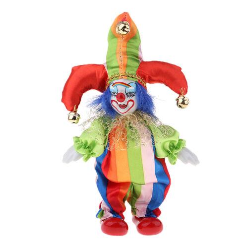 6inch Vintage Céramique Clowns Poupée En Porcelaine Figure Jesters
