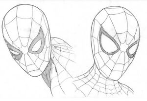 Spider-Man-Homecoming-Original-Spider-Man-Art-by-Steve-Kurth-PUBLISHED