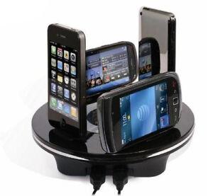 OvisLink-ARGON-6U-Base-de-Carga-Dock-Station-para-Smartphone-Android-Apple