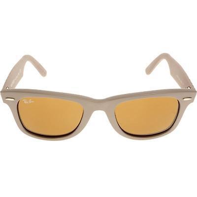 350bd4e1fb2fe Ray Ban RB2140 6063 Original Wayfarer Matte Beige Brown Gradient Sunglasses