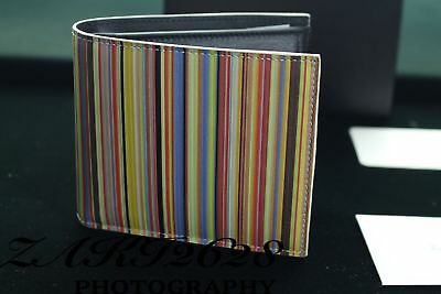 Paul Smith Hommes Portefeuille bfold Multi Made in Italy
