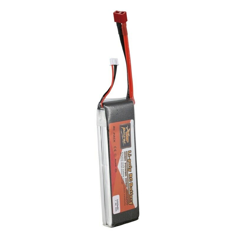 3X (Zop Potenza 7.4 V energia 5000Mah  40C Lipo Batteria T telecouomodo parti un T3T4  Sconto del 70% a buon mercato