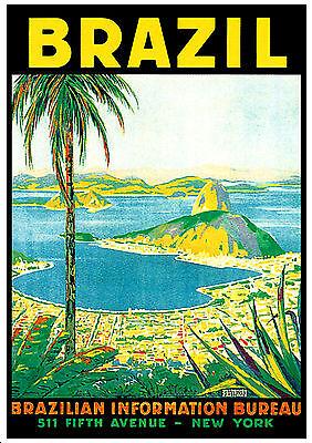 NEW YORK 1 A3 vintage retro travel /& railways posters art print #3