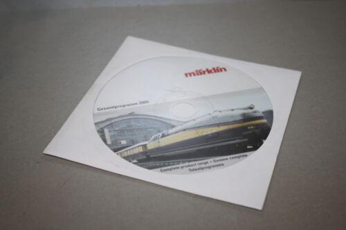 Märklin CD-ROM programa global 2005
