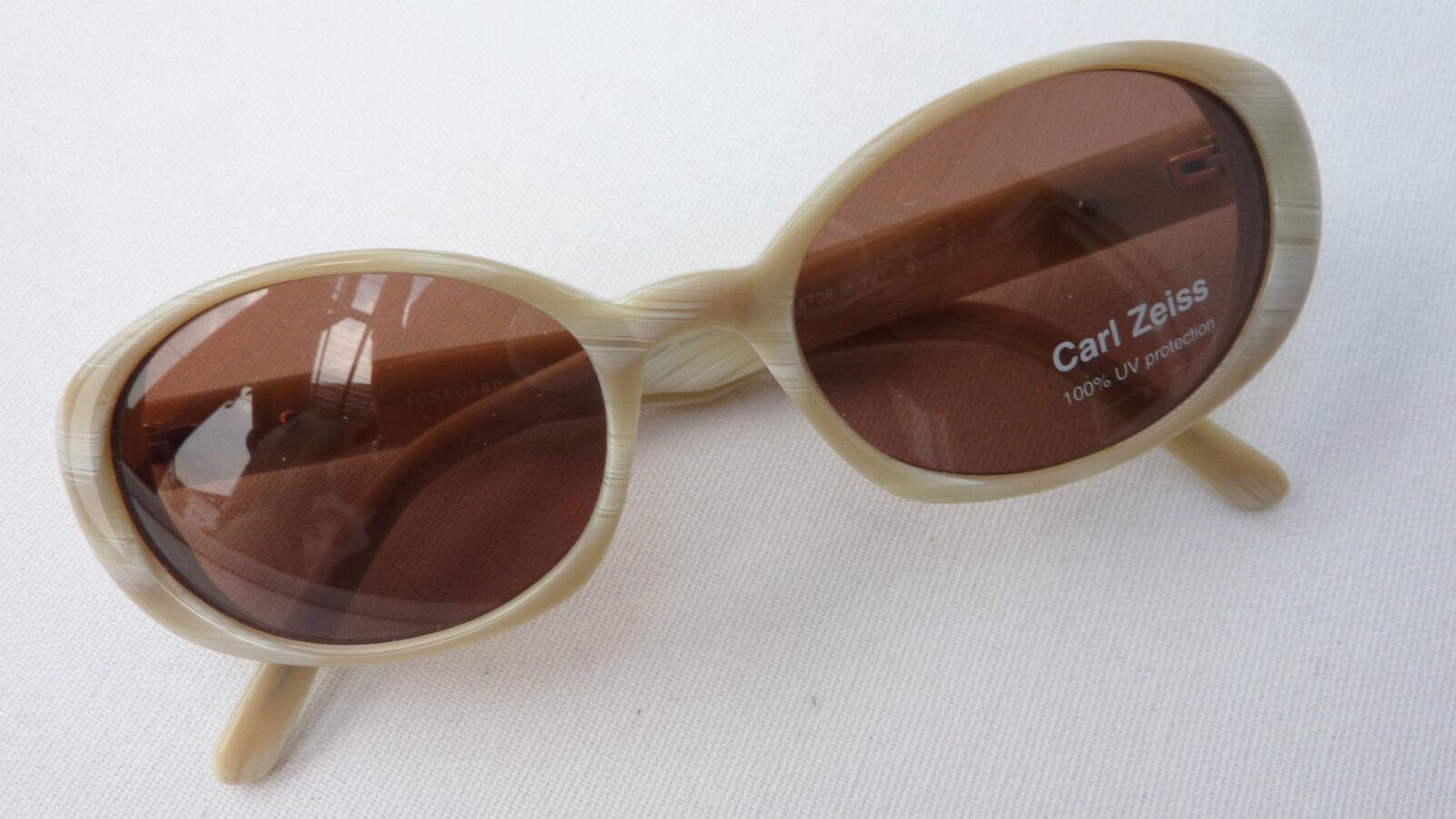 Toni Gard Sonnenbrille Sunglasses Damen braune GläserZeiss Hornoptik Frame Frame Frame GrößeM     | Tragen-wider  | Züchtungen Eingeführt Werden Eine Nach Der Anderen  | Reparieren  1eeedf