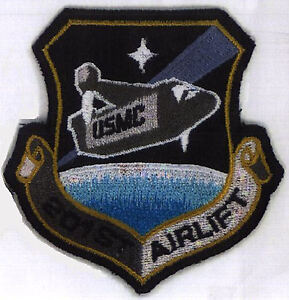 SAAB-Space-Above-amp-Beyond-201st-Airlift-Embroidered-Iron-on-Patch