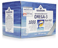 2x Gesundform Omega- 3 1000mg 180Kapseln