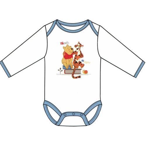 Baby Mädchen Jungen Body Strampler Langarm mit Motiv Öko-Tex Winnie Pooh Disney
