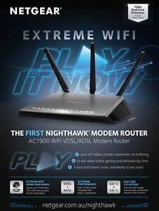 Netgear-Nighthawk-D7000-AC1900-Dual-Band-Wireless-Gigabit-ADSL2-Modem-Router