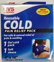 Cvs Reusable Gel Soft Sleeve Cold Pack For Pain Relief Ice Pack
