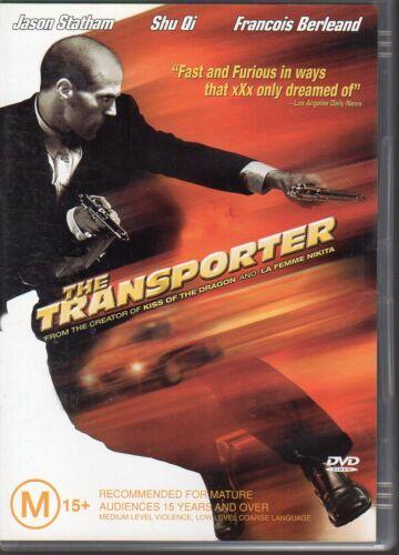 1 of 1 - THE TRANSPORTER - DVD R4 - Jason Statham - LIKE NEW - FREE POST
