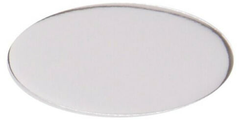 - SILVER SELF ADHESIVE TROPHY PLATES OVAL ENGRAVED FREE 40mm x 20mm