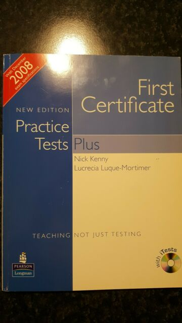 FCE practice test plus. Student's book. Without key con CD