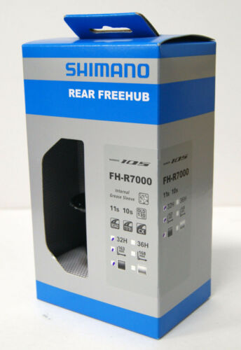 Shimano 105 FH-R7000 Black 32H Rear Freehub EFHR7000BYAL