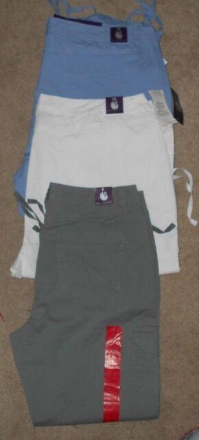 Gloria Vanderbilt Zoey Cargo Cropped Pants Asst Sizes &  Colors NWT